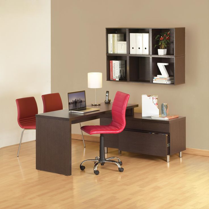 Escritorio Modular Urban. La Línea Urban es especial para oficinas ejecutivas. Moderna y sin manijas     | Habitat Store