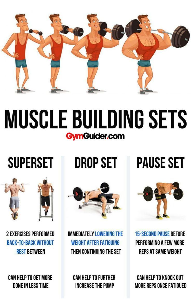 5 different types of supersets that increase muscle