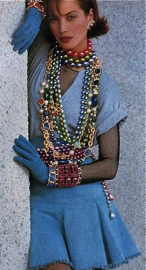 Chanel - 1980's Style.