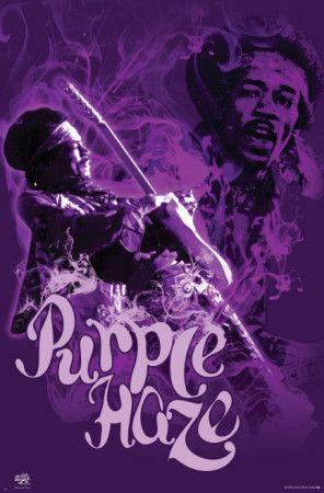 ☯☮ॐ American Hippie Psychedelic Classic Rock Music Retro Vintage ~ Jimi Hendrix Purple Haze