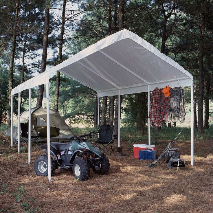 Marquees and Tents 180994: Hercules Universal Steel Frame Canopy Carport Tent Shelter White 12 X 20 -> BUY IT NOW ONLY: $237.7 on eBay!