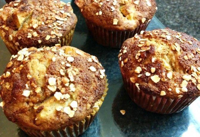 Almás-banános muffin IR diétához