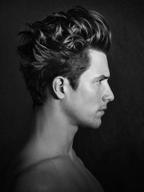 Mens Hair Sideways - Mens Hair Medium