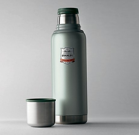 Classic Stanley Thermos :: Hammertone Green