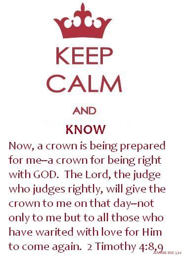 2 Timothy 4:8,9