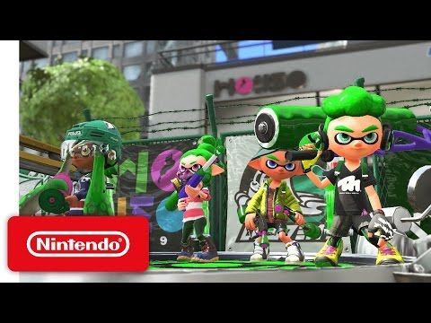 Splatoon 2 Nintendo Switch Presentation 2017 Trailer - YouTube<- I'm glad this game is getting a sequel with SO MUCH new improvements! But I'm also sad cuz I know it will only be a matter of time before Splatoons servers are closed