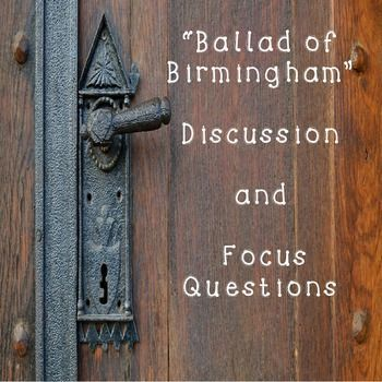 ballad of birmingham a poem commemorates Examples of all types of ballad poems share, read, and learn about poems in the ballad form a ballad is a type of poem that narrates a story in the form of short stanzas.