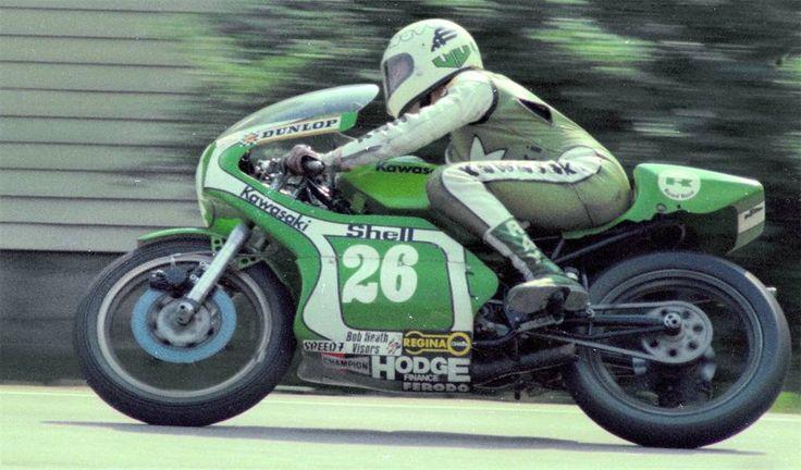 Mick Grant - Kawasaki 250 1977 / NW200