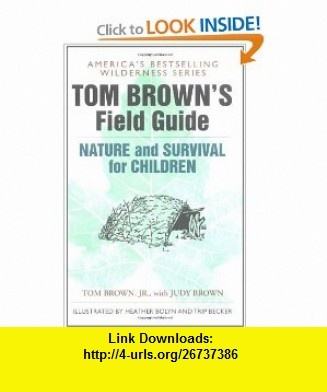 tom brown's field guide to wilderness survival pdf download