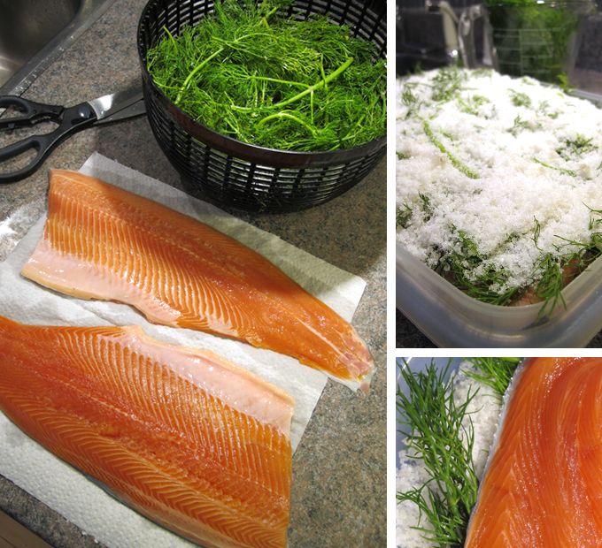 Gravlax: worth one's salt.  Mmm home made gravlax recipe, so easy! #foodies: Gravlax Recipes