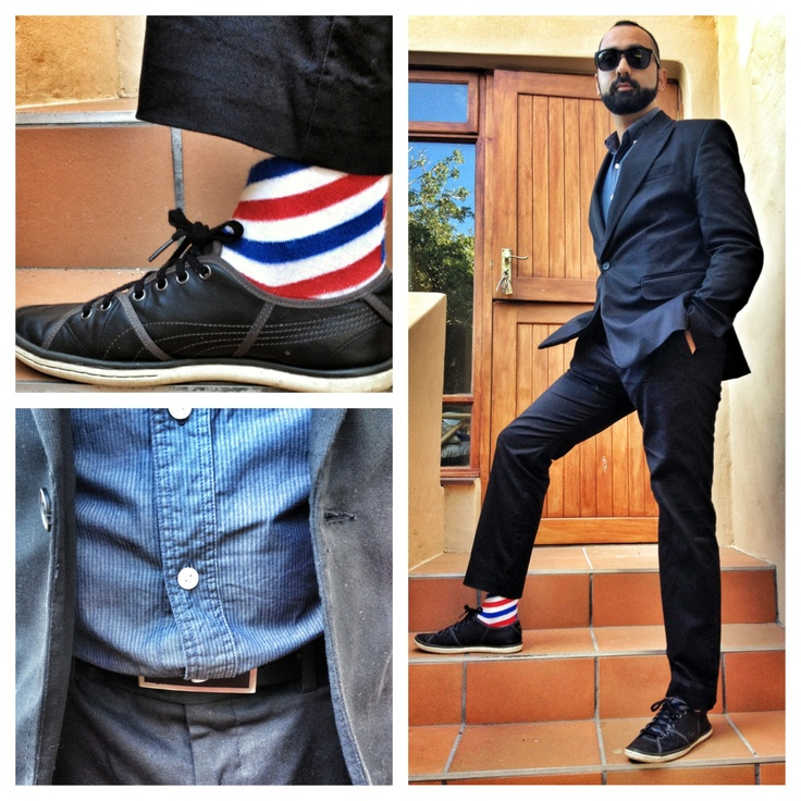 Wedding outfit. Hilton Wiener suit, Zara shirt, Barber Shop NicSocks, Prada Sunglasses. #mensfashion #fashiontips #socks #nicsocks #suit #sunglasses #mensshoes