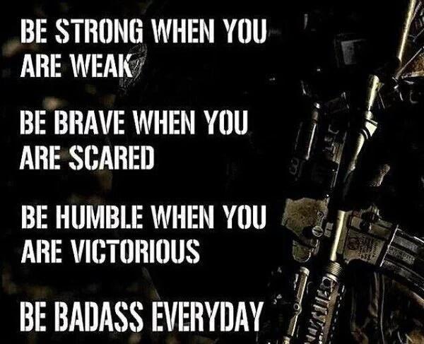 Be badass. LEO, cop, police