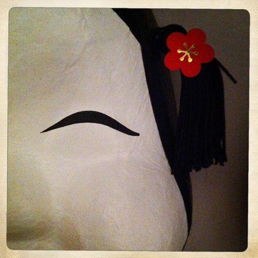 masque nippon - bijouterie michaud - neuchâtel