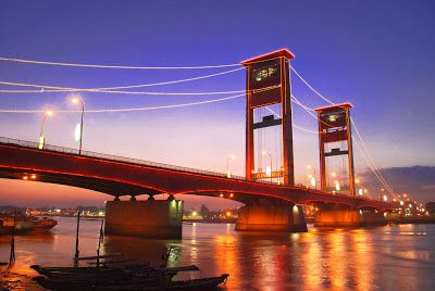 Berwisata Ke Palembang, Wajib Ke Jembatan Ampera