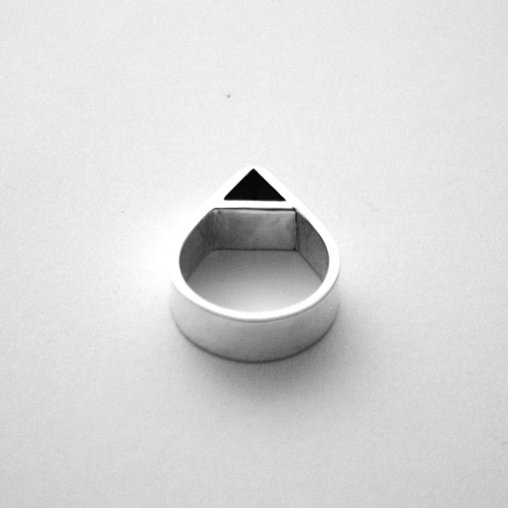 Miss Wee — Framed Tear Drop Ring • Available at thebigdesignmarket.com