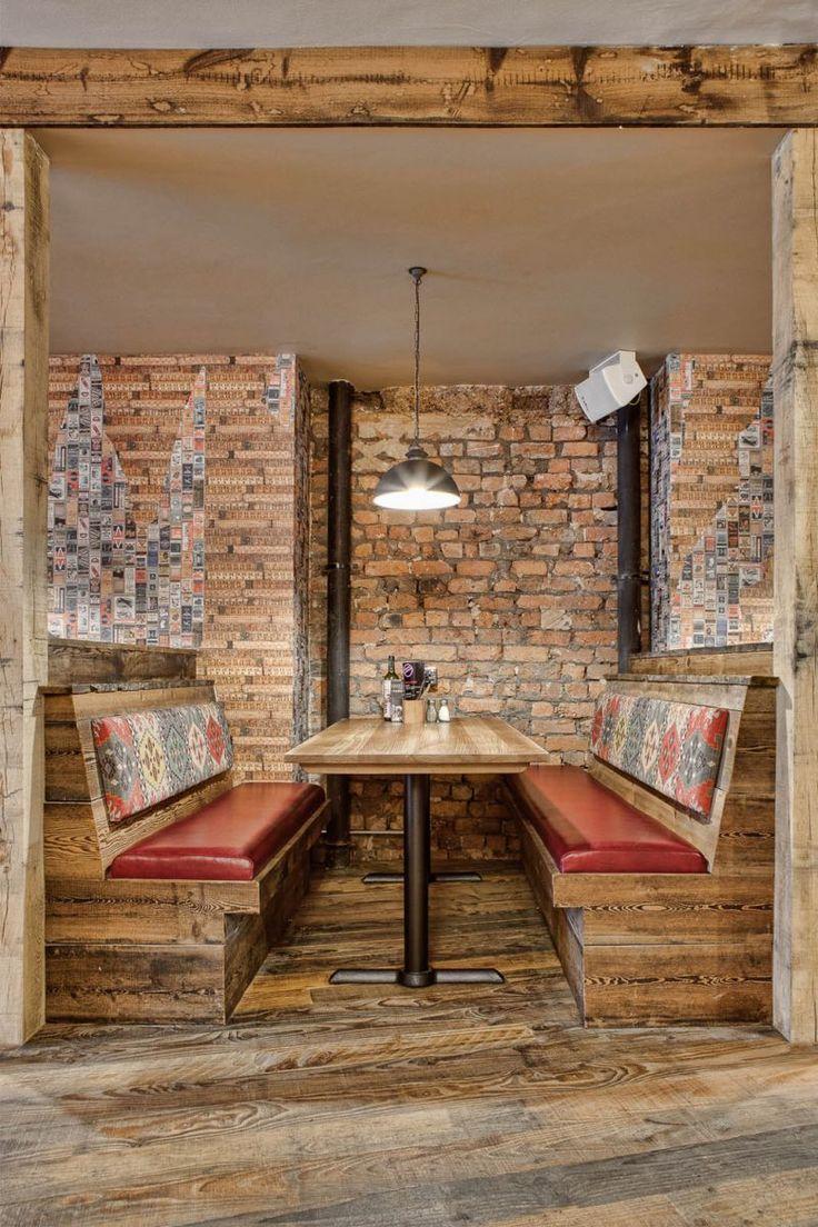 The Crafty Pig Restaurant By Dv8 Designs Manchester