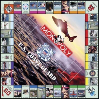 MONOPOLY: U.S. Coast Guard Edition | USAopoly