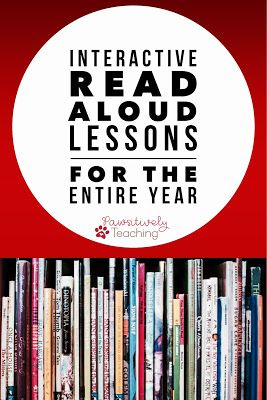 Interactive Read Aloud - Get a year's worth of great read alouds for one awesome price! Use this 200+ page resource with your Kindergarten, 1st, 2nd, 3rd, and 4th grade classroom or home school students. You get a preview, interactive talking points, written response, & graphic organizer for comprehension practice for EACH story! Great for engagement, understanding of the text, comprehension strategies, literacy concepts, and vocabulary. Click through to see all the books you'll be using.