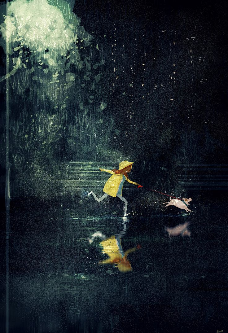 Splish, splash splosh.  #pascalcampionart