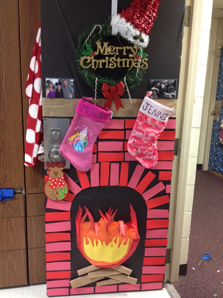 8 Best Christmas Door Decorating Ideas Images On Pinterest
