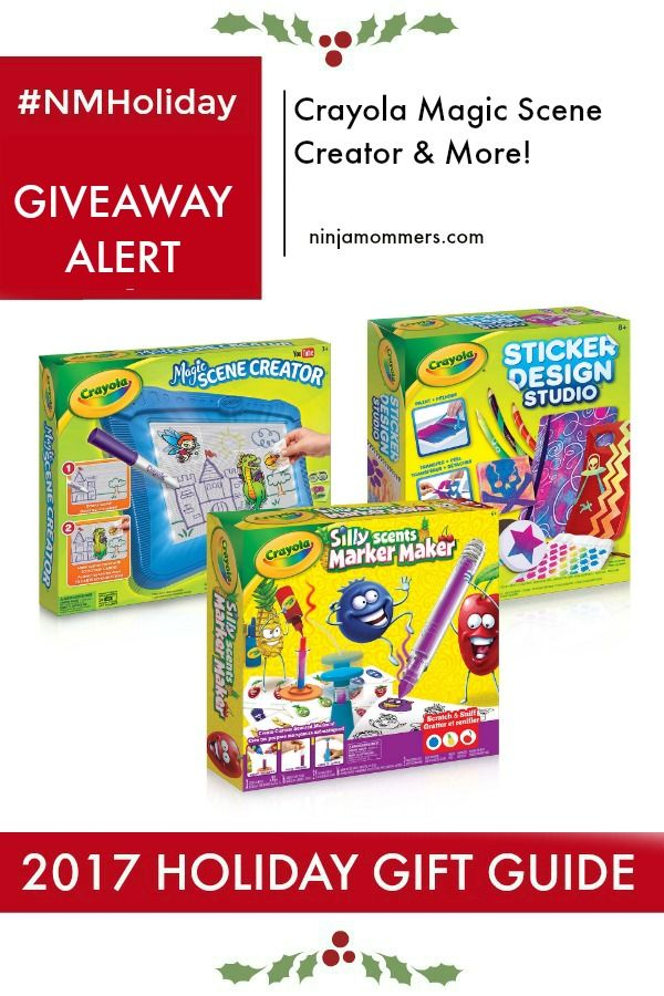 Holiday Gift Guide Giveaway from Crayola! Enter to Win a Prize Pack Valued at $70 Just in time for the Holidays! #NMHoliday