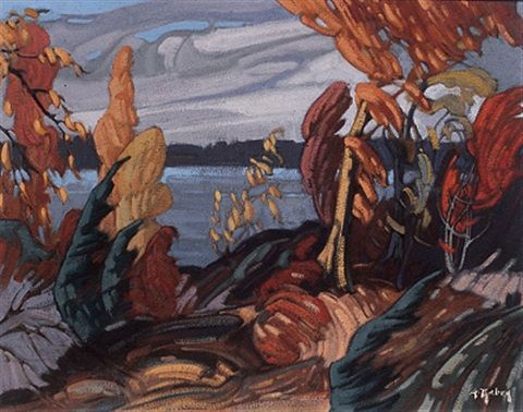 Palette d'automne by Gaston Rebry