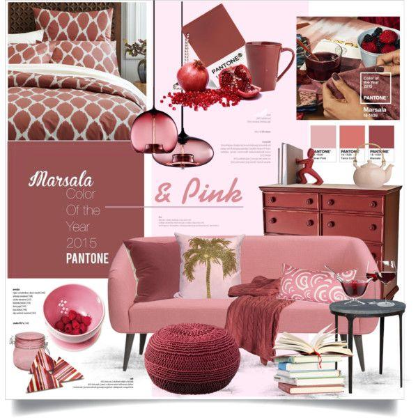 Marsala + Pink
