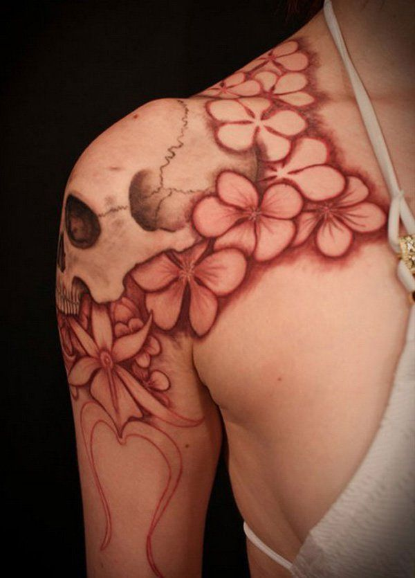 girls shoulder tattoo designs - 55 Awesome Shoulder Tattoos  <3 <3