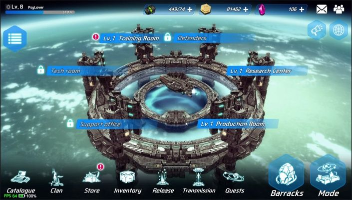 Battle Team is a Free Android Turn Based Strategy Mobile Multiplayer Game that allows you to enjoy deep scenarios in the background of the universe and deep strategic elements