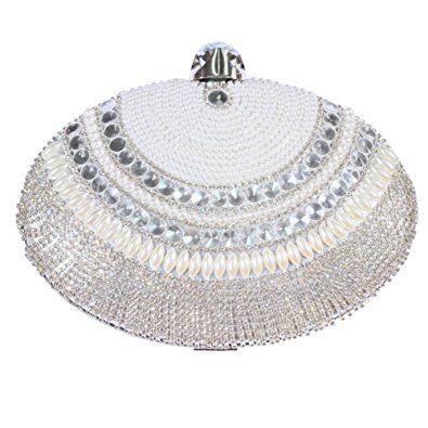 67b601ccb4 Digabi Luxury Crystal Diamond Tassels Oval shape women Crystal Evening  Clutch Bags Review