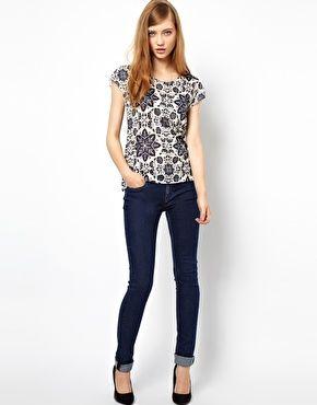 Image 4 of Denham Cleaner Skinny Jeans