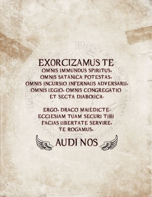 #Demons #Exorcisms #DemonicPossession