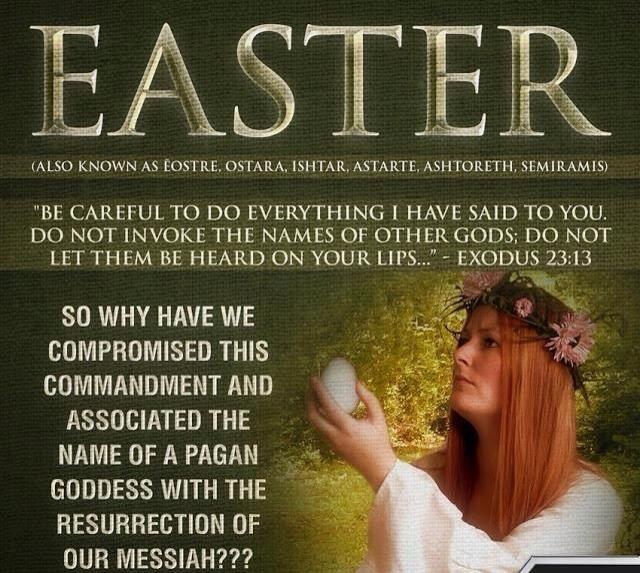 I prefer the term Resurrection Sunday