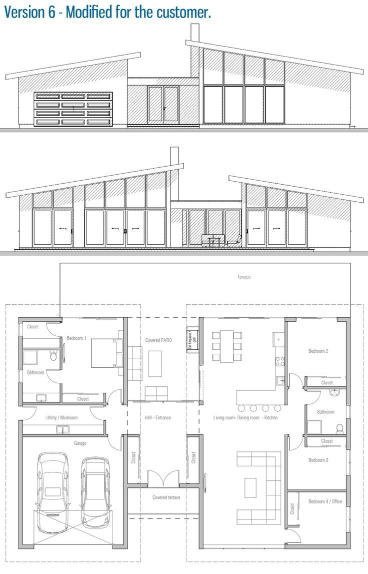 Grundrisse zukunft moderne häuser home pläne haus design kinderheime rodrigo erdgeschoss architektur