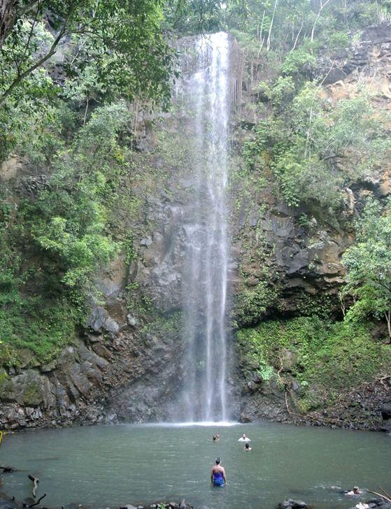 kauai waterfall