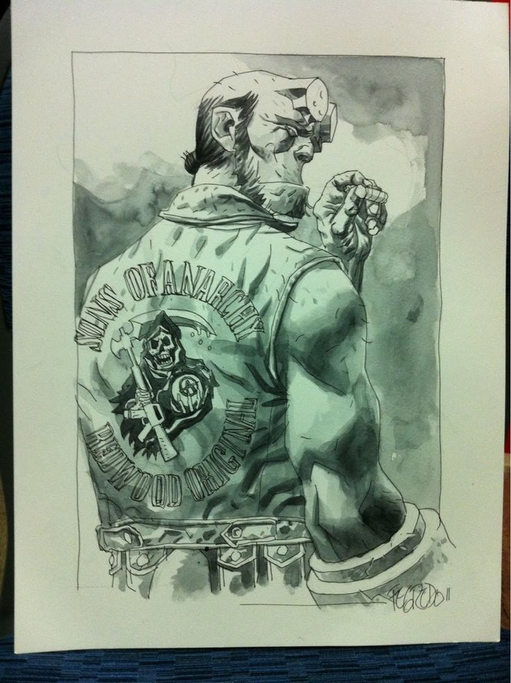 Hellboy Sons of Anarchy