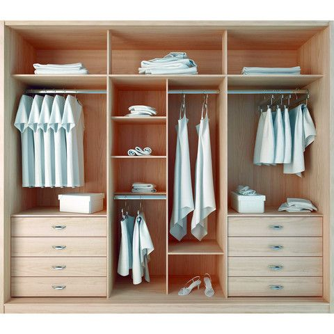 Best 20 wardrobe design ideas on pinterest closet for 4 door wardrobe interior designs