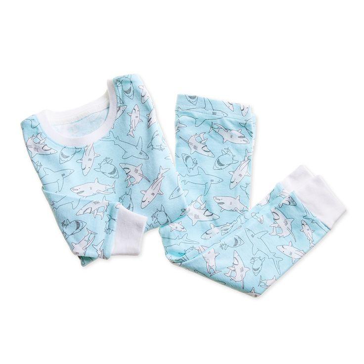 cotton-baby-toddler-sleepwear-pajamas-shark-blue