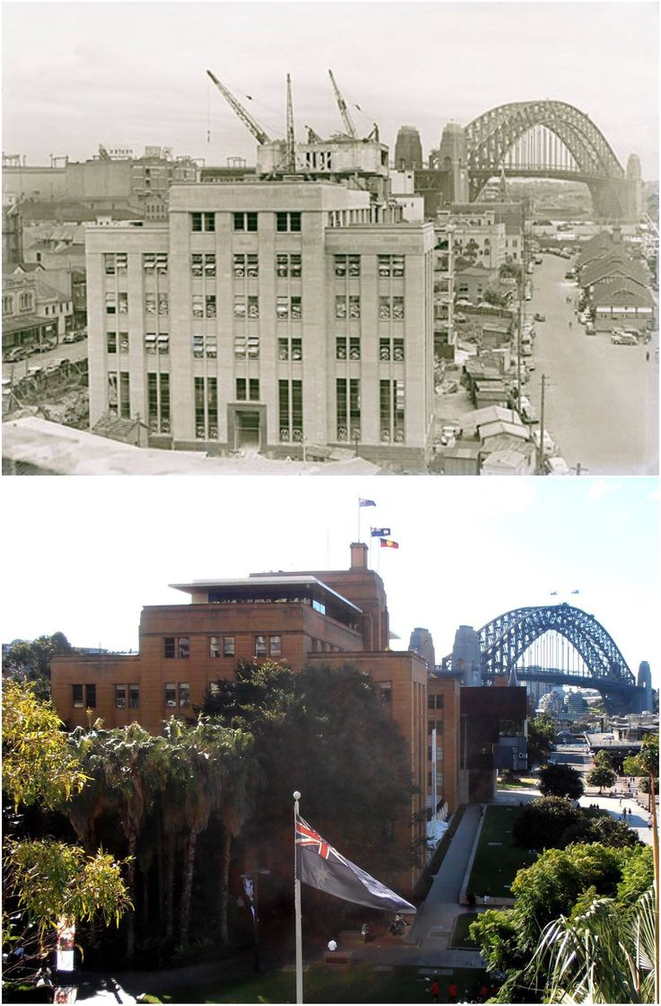 Maritime services building c1950 > 2016 now your Museum of Contemporary art. [NSW State Library > Kevin Sundgren. By Kevin Sundgren]
