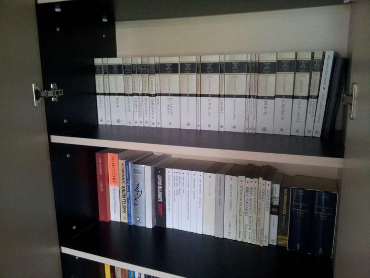 Kütüphanemdeki klasikler