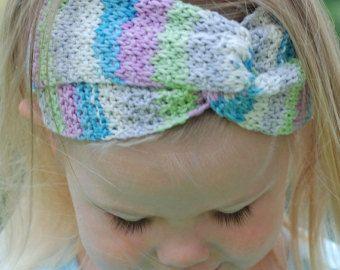 Infinity Headband Knitting Pattern  Ear Warmer Knitting