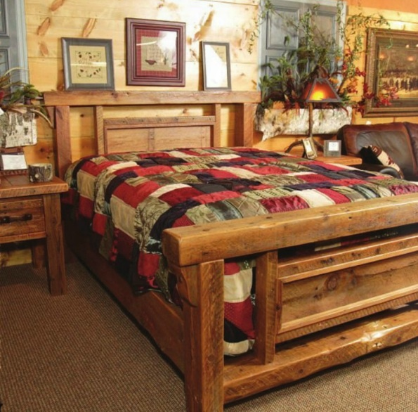 Cozy Country Style Bedroom