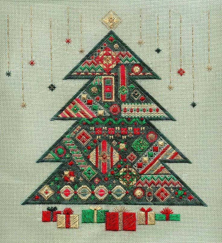 Christmas Tree by Laura J Perin  in my stash