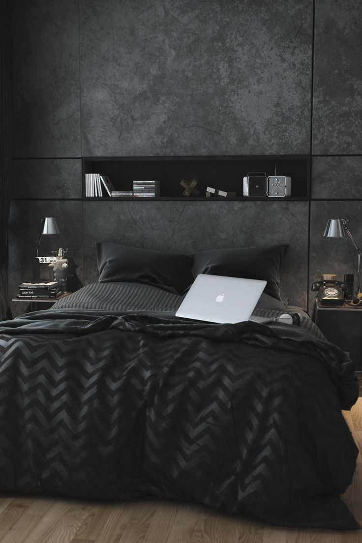 Amazing! I don't like the black color for interior design but this one is great.