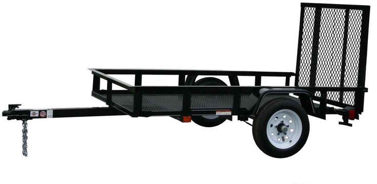 New 2015 Carry-On Trailers 5X8G - 2,000 lbs. GVWR Mesh Floor ATVs For Sale in Georgia.