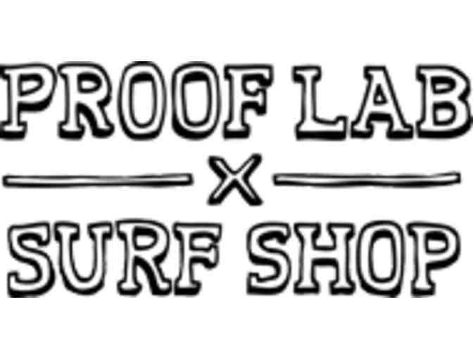 Learn-to-Surf Package for Four with Proof Lab in Mill Valley + Swag
