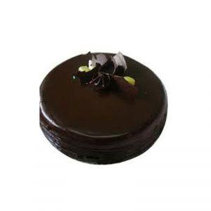 υγρή τούρτα σοκολάτας