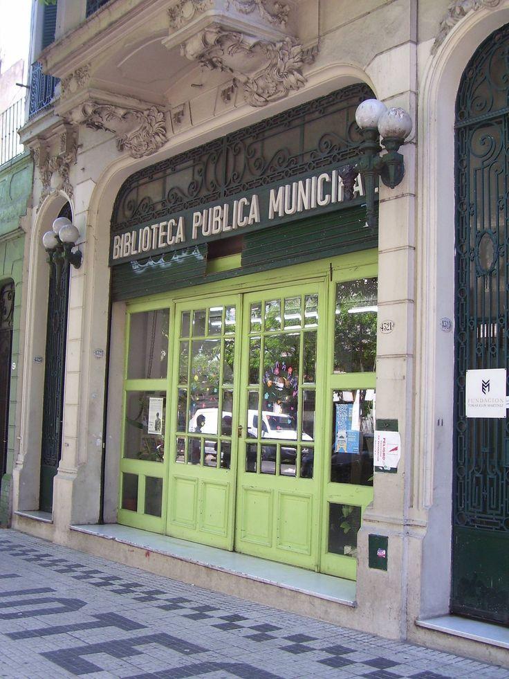 Biblioteca publica Miguel Cane, Buenos Aires