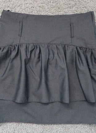 Kup mój przedmiot na #vintedpl http://www.vinted.pl/damska-odziez/spodnice/17837692-atmosphere-szara-spodnica-z-baskinka-1240