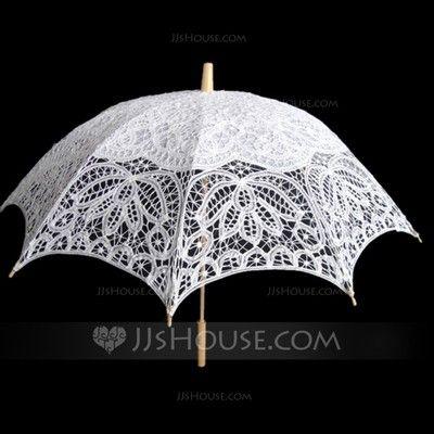 [Kr 295] Bomull Bröllops Paraplyer (124060675)